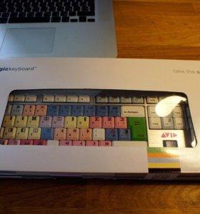 Клавиатура для монтажера Avid Media Composer PC