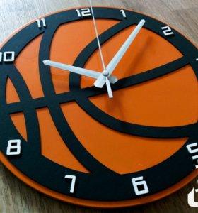 "Часы ""Баскетбольный мяч"""
