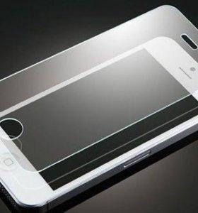 Защитное стекло на IPhone 4, 6, 6s , 6+