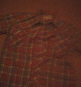 Рубашка клетчетая