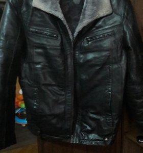 Куртка мужская,кожа