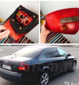 Фара от Audi A6 оригинал