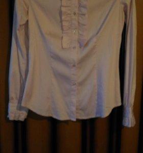 Рубашка светло-розовая