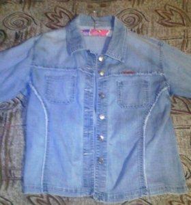Лёгкая джинсовая рубашка