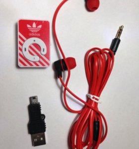 MP3 плееры + зарядка + наушники
