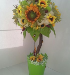 "Топиарий ""Цветы солнца"""