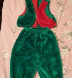 Карнавальный новогодний костюм гномика (прокат)