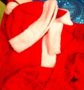 Новогодний костюм деда мороза