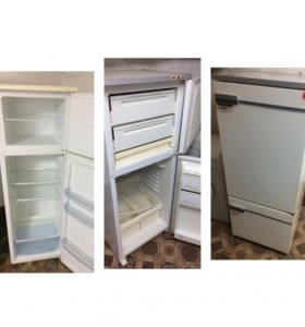 Б/у двухкамерный холодильники