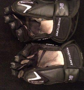 Краги Хоккейные перчатки Reebok 6k