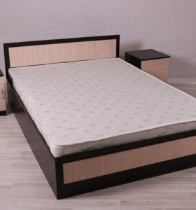 Кровать 180*200 с матрасом