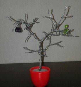Деревце-подставка для украшений