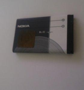 @ Аккумулятор Nokia bl-5c, 1020mAh li-ion, новый.