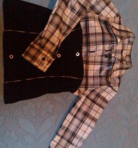 Блузка, рубашка на девочку 5-6 лет