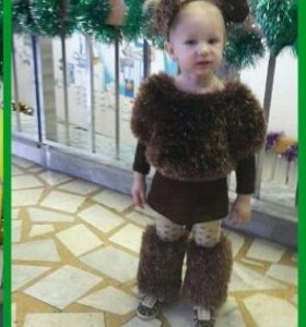 Новогодний костюм обезьянки)))