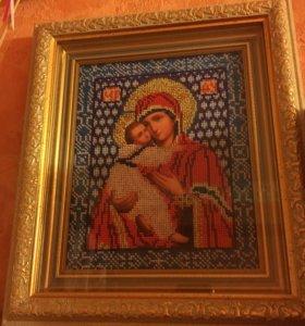 Икона Владимирская Божья матерь