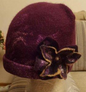 Шляпка валеная