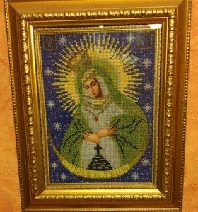 Икона Остробрамская Божья  матерь
