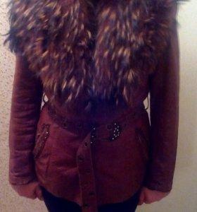 Кожаная куртка,