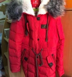 Тёплая зима пальто