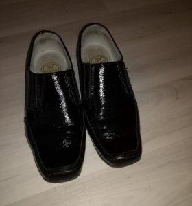 Туфли детские для мальчика 1 класс