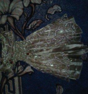 СРОЧНО!!!Шикарное платье для принцессы!