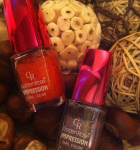 Лак для ногтей Golden Rose Impression (2 шт)