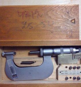Микрометр резьбовой 25-50