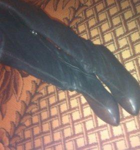 Сапоги кожаные//возможен обмен