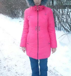 Зимний пуховик куртка новая
