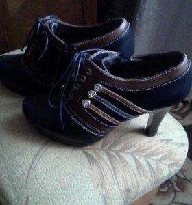 Туфли ботинка