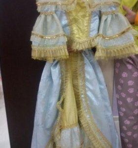 Карнавальный костюм золушки