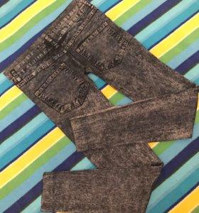 Новые лосины  джинсы 42-44р.