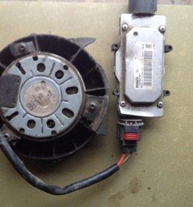 Моторчик вентилятора Форд Фокус 3
