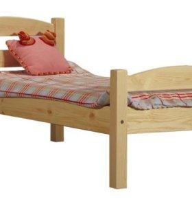 Кровать из дерева новая