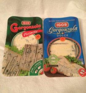Сыр с голубой плесенью Горгонзола Gorgonzola