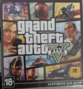 Игра GTA5 на Ps3