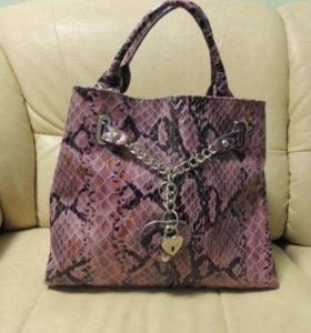 Итальянская сумка Vera Pelle Genuine Leather