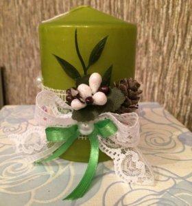 Эксклюзивные свечки, ёлочки, букеты