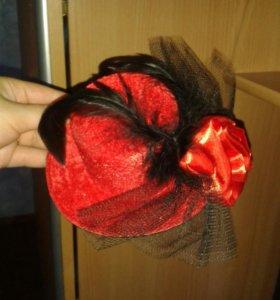 Шляпка карнавальная