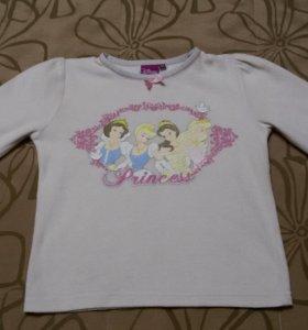Пижамная кофта на девочку 4-5 лет