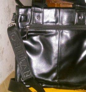 Новая мужская сумка (экокожа)