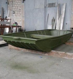 Лодка алюминиевая плоскодонка под мотор