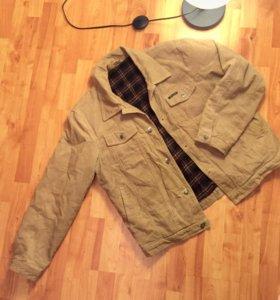 Куртка бежевая мужская