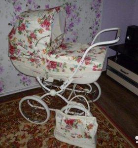 Детская коляска геоби 2 в 1
