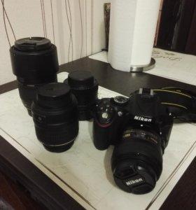 Nikon 5200+парк объективов