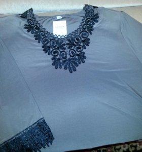 Новая блузка 62-64