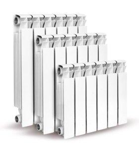 Радиаторы: Алюминиевые,Биметалические и Чугунные.
