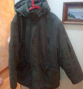 Теплая зимняя куртка 58 размеоа