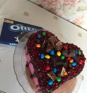 Вкусные , нежные тортики на заказ 👌🏼